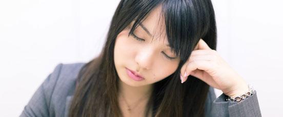 PMS症状、生理前に眠気の画像