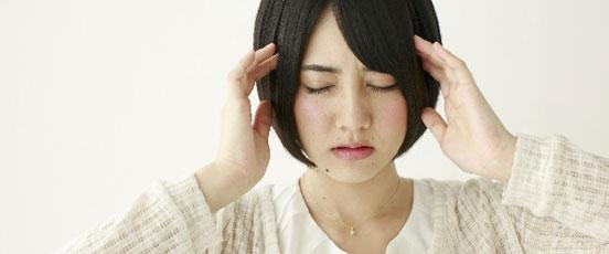 PMS症状、生理前の落ち込みの画像