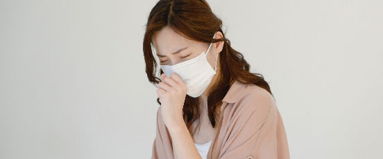 PMS症状、生理前に風邪の画像