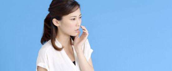 生理前の口内炎、原因は妊娠・・の画像